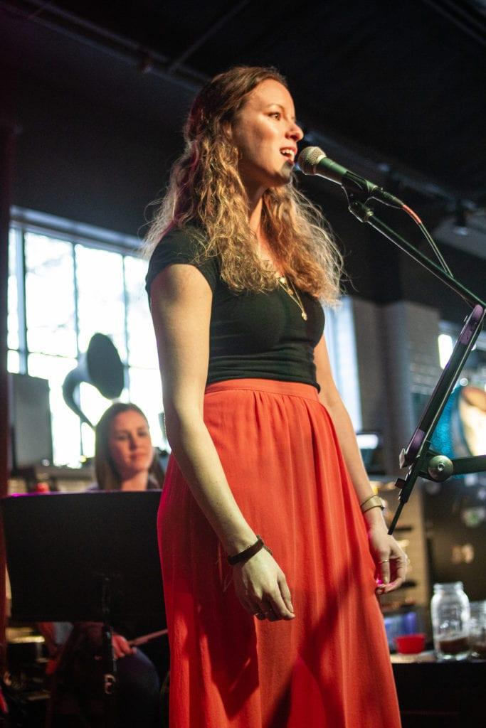 Rebecca_Reid Performing