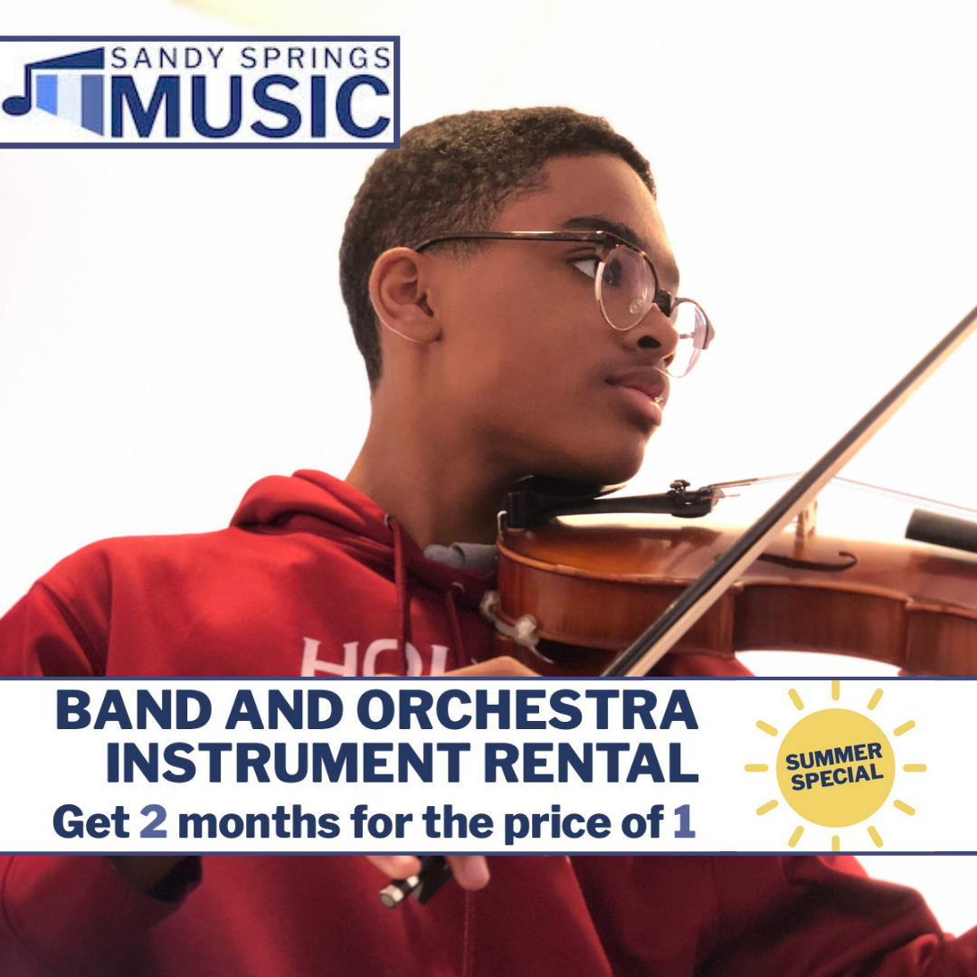 Instrument Rental Special